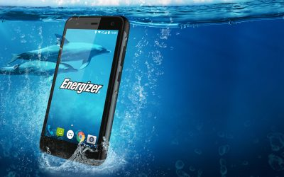 Introducing the Energizer® Hardcase H500S – The rugged smartphone with a sleek design and a 3,000 mAh battery –